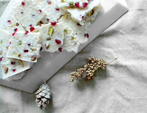 Healthy Holiday Eating + Coconut Butter Bark