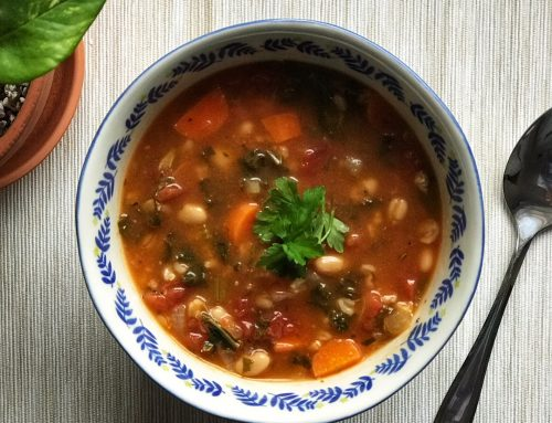 Vegan Tuscan Soup